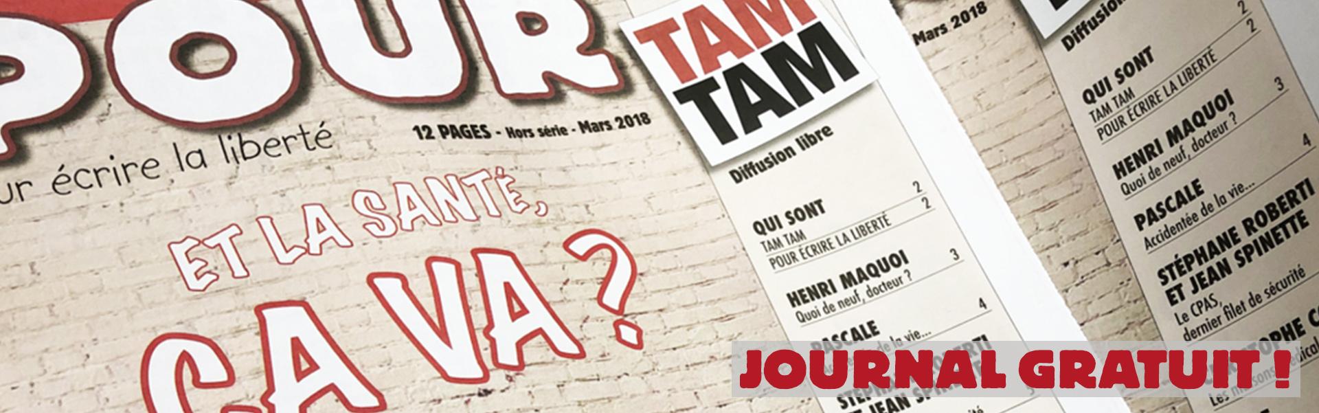 Journal spécial santé avec TAMTAM - www.pour.press